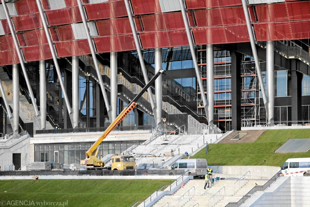 Stadion Narodowy tuż przed oficjalnym zakończeniem budowy
