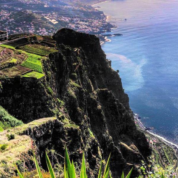 Widok z klifu Cabo Girao