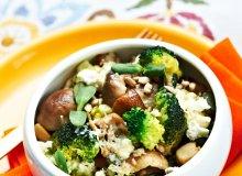 Grzyby z brokułami zapiekane z serem - ugotuj