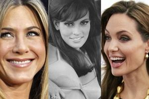 Jennifer Aniston, Raquel Welch i Angelina Jolie.