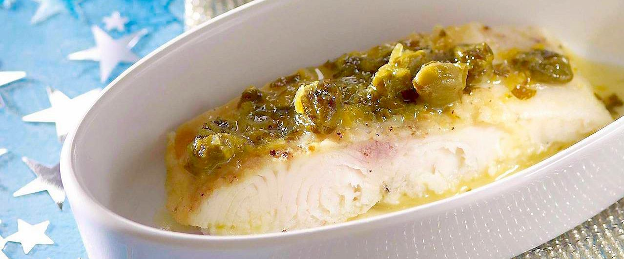 Ryba w sosie cytrynowym