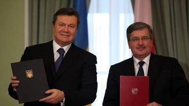 Wiktor Janukowycz i Bronisław Komorowski