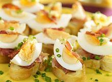Grzanki z jajkiem i bekonem - ugotuj