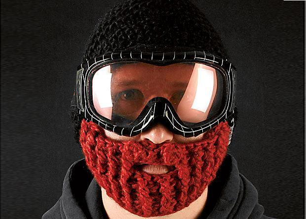 Beard Hat - ciepła wełniana czapka z równie ciepłą i wełnianą 'przystawką' na brodę