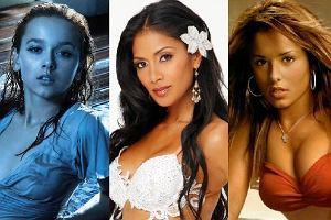 Monika Brodka, Nicole Scherzinger, Cheryl Cole.