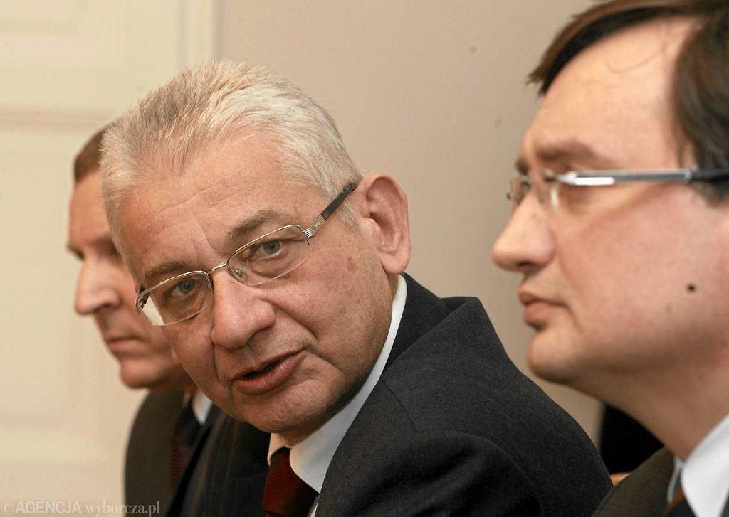 Ludwik Dorn i Zbigniew Ziobro