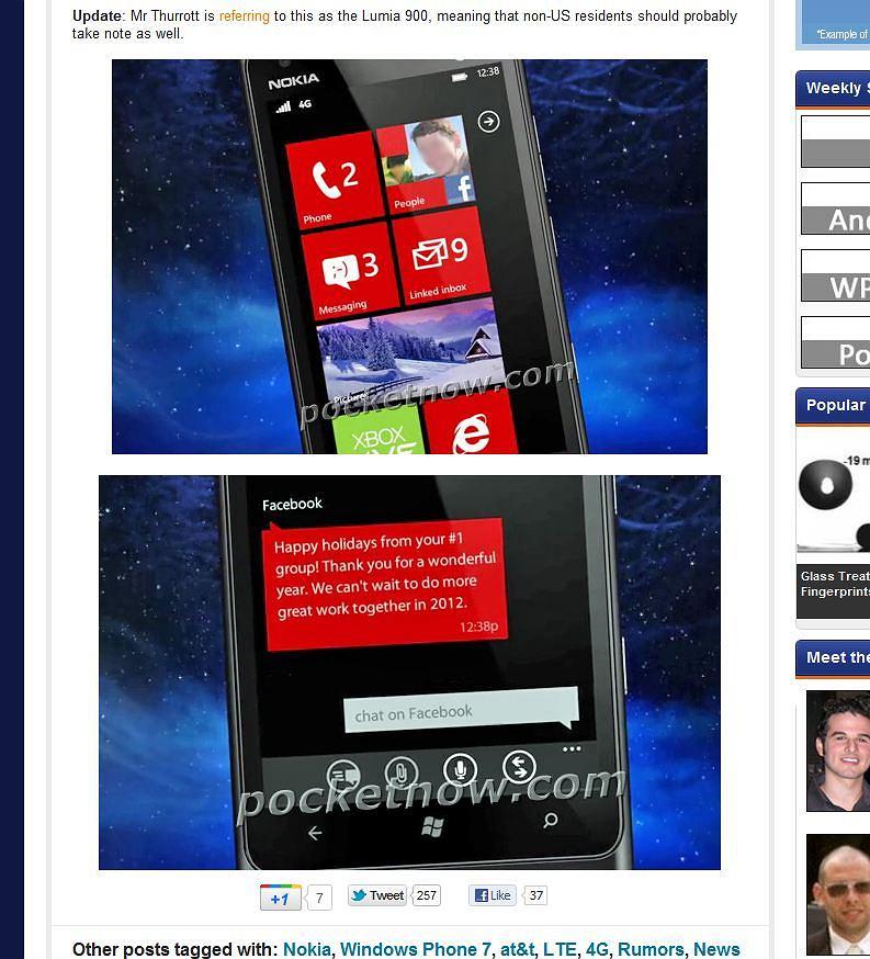 Nokia Ace (Lumia) 900