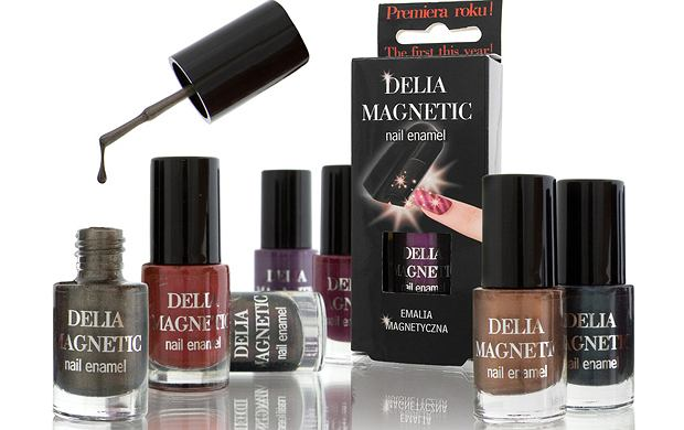 Nowość - magnetyczne lakiery od Delia Cosmetics
