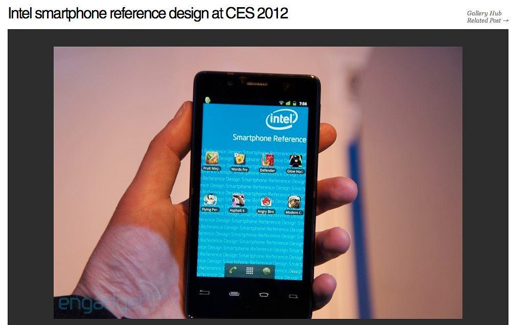 Smartfon Intela