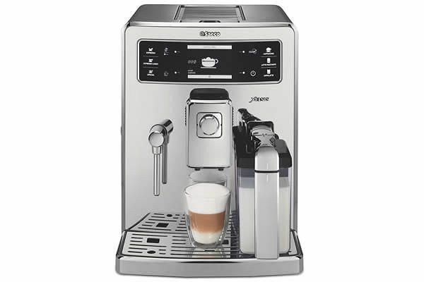 Ekspres do kawy ze skanerem linii papilarnych