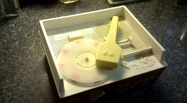Płyta winylowa wydrukowana w 3D