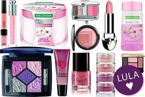 Różowe kosmetyki - przegląd nowości