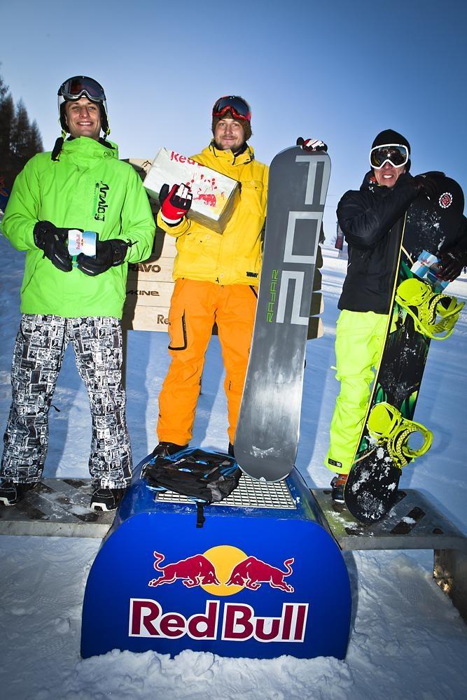 Krynica_2012 zwyciezcy snowboard_Zdroj_Red Bull Zjazd na Kreche