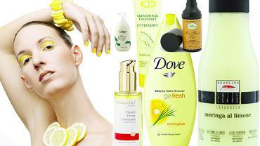 Cytrynowe kosmetyki