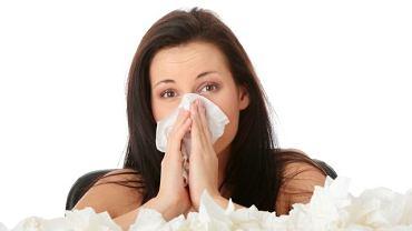 Katar sienny to często skutek alergii