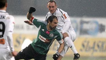 Górnik Zabrze - Legia Warszawa 2:0. Ivica Vrdoljak