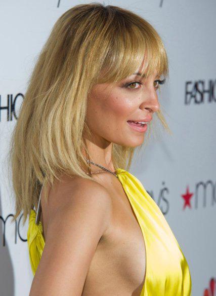 Nicole Richie podczas przyjęcia z okazji premiery programu NBC