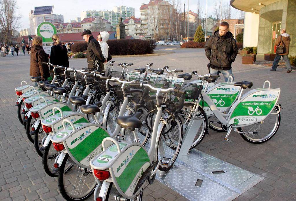 Wypożyczalnia rowerów na Bemowie