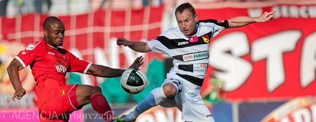 Tomasz Frankowski może przeciwko Śląskowi nie zagrać