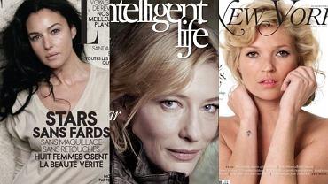 Cate Blanchett, Monica Bellucci, Kate Moss.