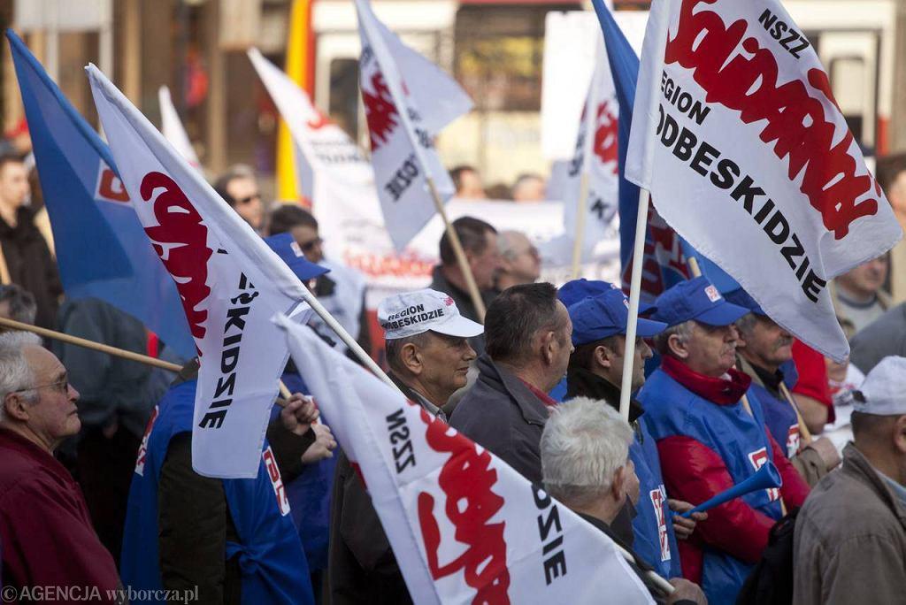 Manifestacja Solidarności