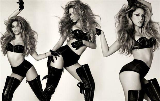 Piosnkarka Shakira- narzeczona Gerarda Pique.