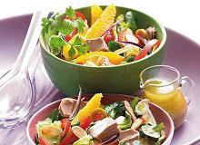 Sałatka z tuńczykiem i pomarańczami - ugotuj