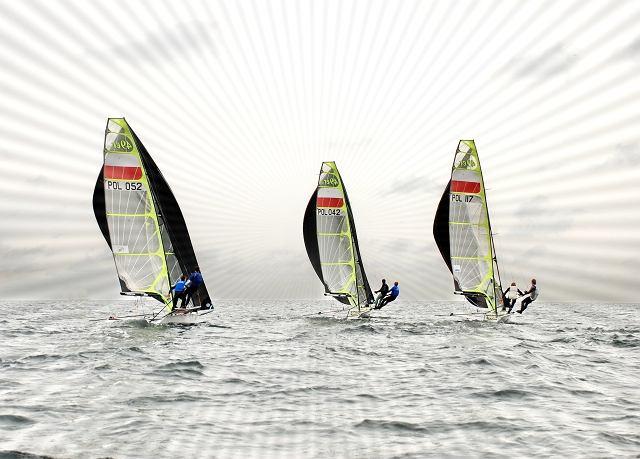 49ery w regatach Pucharu Świata Princessa Sofia na Majorce
