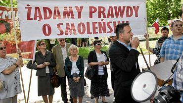 Manifestacja ''Gazety Polskiej'' i Solidarnych 2010 w Gdańsku w rocznicę odwołania rządu Jana Olszewskiego, 4 czerwca 2011