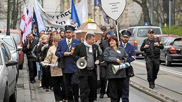 Ostatnie duże protesty pocztowców odbyły się w kwietniu zeszłego roku