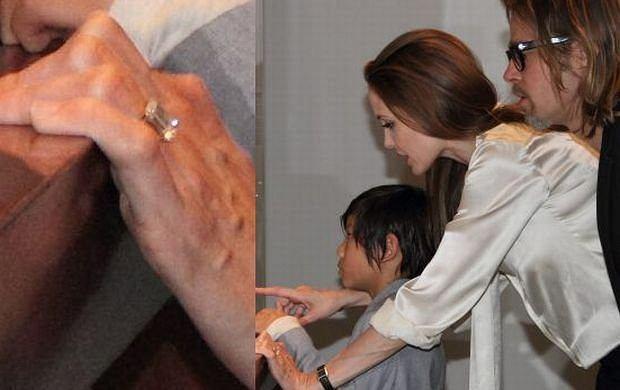 Angelina Jolie, Brad Pitt.