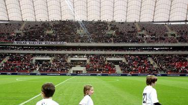 Mecz Legia - Sewilla na Stadionie Narodowym