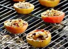 Grillowane faszerowane jabłka - ugotuj
