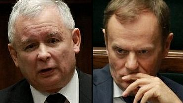Jarosław Kaczyński i Donald Tusk