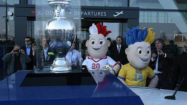 Puchar Euro 2012 i maskotki mistrzostw