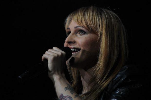 Agnieszka Chylińska wystąpiła w Chicago jako blondynka.