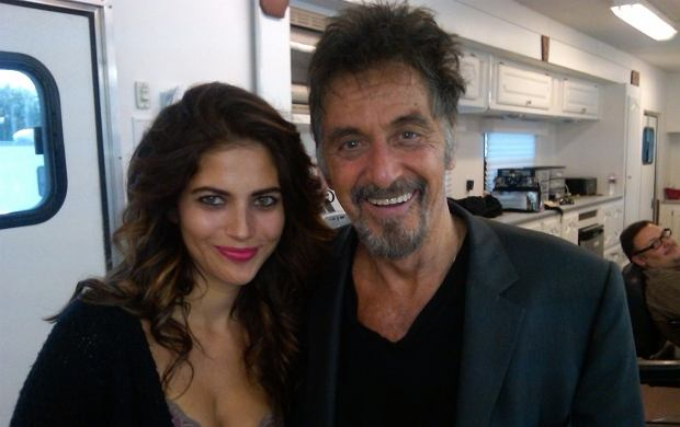 Weronika Rosati, Al Pacino.
