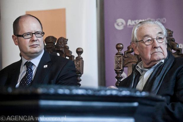 Paweł Adamowicz i Andrzej Wałęsa.