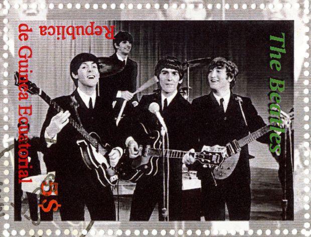 The Beatles, lata 60. group moda męska