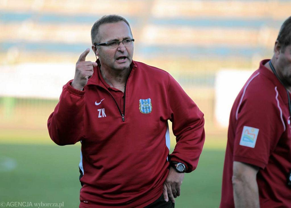 Zbigniew Kaczmarek cieszy się dużym uznaniem wśród piłkarzy