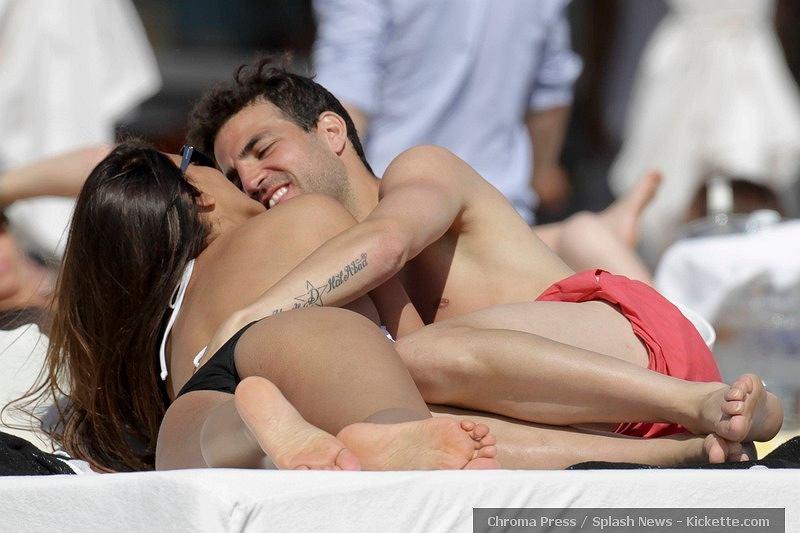 esc Fabregas i Daniella Semaan
