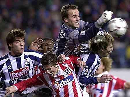 Sander Westerweld w barwach Realu Sociedad