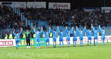 Październik 2003. Wisła Płock - Legia Warszawa 2:1