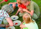 Zabawy z dziećmi w ogrodzie