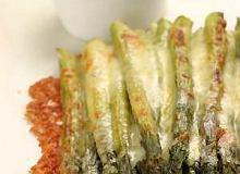 Grillowane szparagi z cheddarem - ugotuj