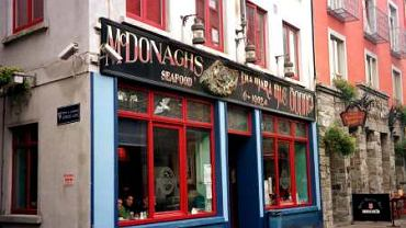 Sklep na Quay Street w Galway