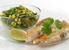 Biała ryba z salsą kukurydzianą - ugotuj