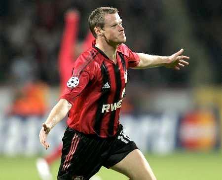 Jacek Kryznówek w barwach Bayeru