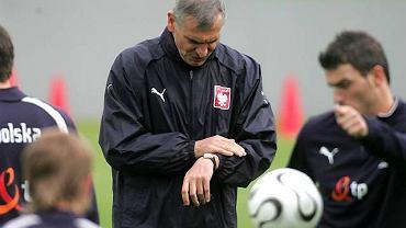 Paweł Janas już wiedział, że jego godziny na stanowisku selekcjonera kadry są policzone