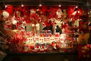 Walentynkowa komercja w Złotych Tarasach